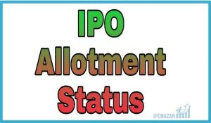 IPO Allotment status