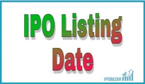 ipo listing date