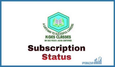 Kuberan Global Edu Solutions IPO Subscription Status