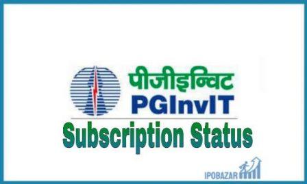 PowerGrid InvIT IPO Subscription Status