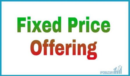 Fixed Price Offering