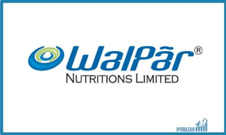 Walpar Nutritions IPO Listing Price at ₹59.95 on NSE, SME